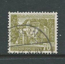 GERMANY BERLIN 1954 70pf FINE USED CATGB£26