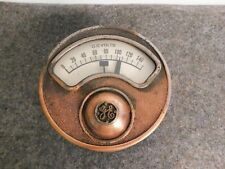Antique General Electric Copper Dc Volt Meter