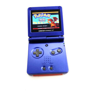 Blue Game Boy Advance GBA SP Console AGS 101 Brighter Backlit LCD Console
