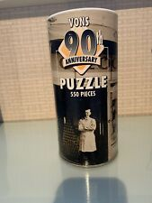 VONS 90th Anniversary Puzzle 550 Pieces  New in Package