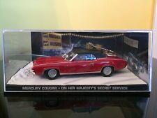 JAMES BOND 007 CAR COLLECTION Mercury Cougar On Her Majesty's Secret Service