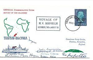 1963 Tristan Da Cunha - First day Cover - Return of the Islanders