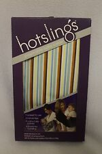 THE ORIGINAL HOTSLINGS BABY CARRIER - STRIPE IN SIZE 5 (special for $5.00)