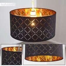 Lampe à suspension Vintage Plafonnier Lustre Lampe pendante Métal/Tissu 174058