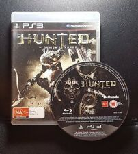 Hunted The Demons Forge (Sony PlayStation 3, 2011) PS3 - FREE POST