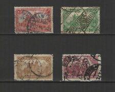 Allemagne 1920 Deutsches Reich 4 timbres oblitérés / T2495