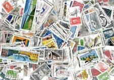 France 2500 timbres différents oblitérés