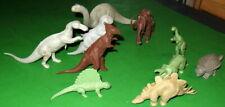 Big Lot Of Old Plastic Toy Dinos.All Vintage.
