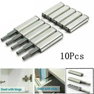 10Pcs Cabinet Latch Door Cupboard Push To Open System Damper Buffer Catch New