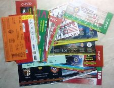 1994 - 2013 ARMENIA eurocups tickets UPDATED APRIL 2019