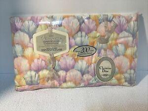 Wamsutta Christian Dior Twin Flat Sheet Supercale 200 Thread Count Dior Petals