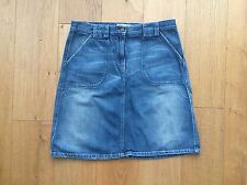 United Colors of Benetton Jeans Rock Gr.38 44 M A-Linie blau hell NEU!!!