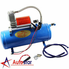 DC 12V 150PSI Air Compressor With 6 Liter Tank For Train Horns Motorhome Tires