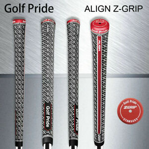 1-13 Golf Pride Z Grip Full Cord Standard or Midsize Golf Grip - Black/White/Red