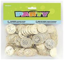 Pirate Party Plastic Coins x 144 - Perfect for Treasure Hunts!