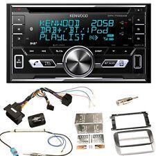 Kenwood DPX-7100DAB DAB+ USB MP3 Einbauset für Ford Focus Mondeo S-Max Galaxy