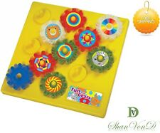 Autism Calming Sensory Toys Fun With Gears Toy Children Visual Aid ADHD KIDS UK
