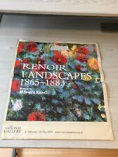 National Gallery Renoir Usado Envoltorio De Plástico Portador Shopper cobrar Bolsa De Regalo
