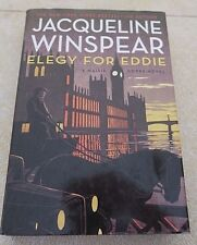 ELEGY FOR EDDIE by Jacqueline Winspear - HC/DJ