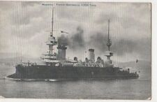 Massena, French Battleship Postcard B635