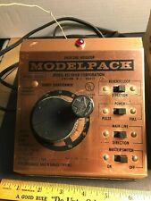 Modelpack Train Railroad Hobby Transformer power supply 6000B w/ box papers!