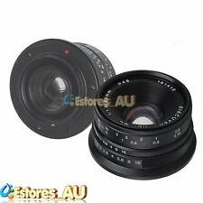 【AU】25mm F/1.8 DISCOVER HD Manual Focus Lens For Fujifilm Fuji FX Mount Black