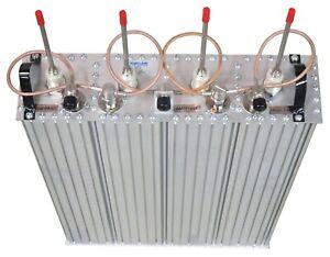 Q2220E Duplexer, Q-Circuit, Res-Lok, 4 cavity, rack mount, 138-174 MHz