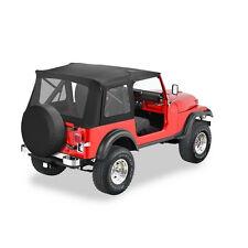 51599.15 Bestop Black Demin Supertop Jeep CJ7 Wrangler YJ 1976-1995