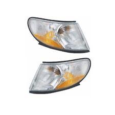 Left & Right Saab 93 Turn Signal Lamps Corner Blinker Light Parking Park OEM URO