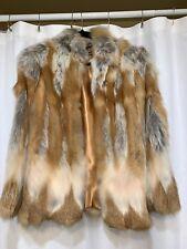"""OLGA """"Red Fox"""" Fur Coat Vintage"""