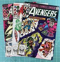 MARVEL Comics AVENGERS BRONZE AGE RUN #235 236  238 LOT OF VF/NM 9.0 SHIPS FREE!