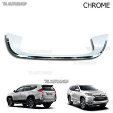 Fits Mitsubishi Pajero Montero Sport 2016 Chrome Tail Gate Fender Under License