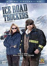 ICE ROAD TRUCKERS - SEASON 7 -  DVD - Region 2 UK Compatible - SEALED