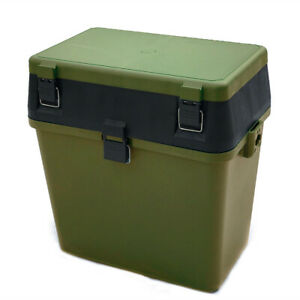 **FACTORY SECONDS** BULK DEAL 5 x Fishing Tackle Seat Box with Strap & Seat Pad