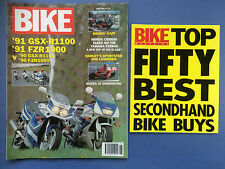 BIKE - June 1991 - Includes Top 50 Best Secondhand Buys - Honda CBR600 - FZR600