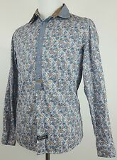 ENGLISH LAUNDRY Mens Floral Long Sleeve Button Down Shirt Medium (M)