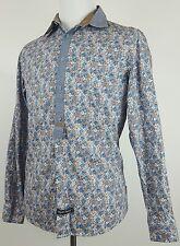 ENGLISH LAUNDRY Mens Floral Long Sleeve Button Down Shirt Medium (M)