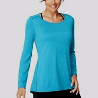 Hanes Sport Women's Performance Long-Sleeve Tunic, Underwater Blue, Small