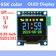 65K Color Screen OLED LCD Display Serial SPI 3.3v Module for Arduino Uno AVR 51