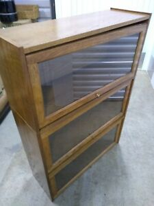 Sectional Wood Lawyer Book Shelves Cabinet, Display Cabinets
