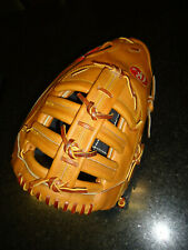 "Rare 3 Dot Rawlings Heart Of The Hide Pro-9Fb First Base Mitt / Glove 12.5"" Lh"
