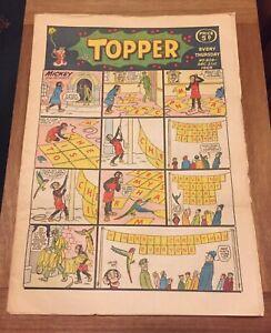 TOPPER comic Christmas - 21st December 1968 issue #829