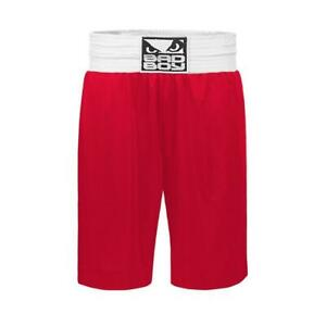 Bad Boy MMA Stinger Boxing Shorts Red Training Fight Gym Martial Arts Kick