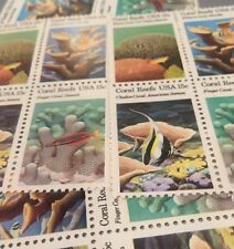 20 Coral Reef Stamps For Holiday, And Wedding  Mail...having A Beach Wedding?