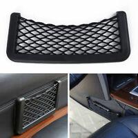 Car Storage Net Mesh Pocket Auto Door Side Phone Drink Holder Organizers 20x8cm