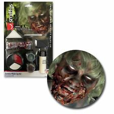Halloween Latex liquido SANGUE ZOMBIE SFX TRUCCO KIT SET DEAD COSPLAY