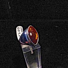 Ring, Gr. 60 aus Silber 925 mit einem Feuerachat aus Mexico