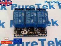 3 Channel 3.3V/5V 10A Relay Module for Arduino RPi ESP8266 + Optocoupler