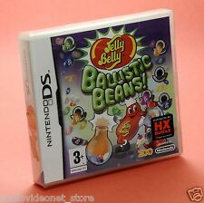 Jelly Belly BALLISTIC BEANS NINTENDO DS italiano sigillato Compatibile 3ds