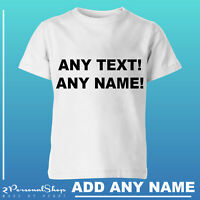 Personalised T shirt Custom Text Any Name Printed Women Men Stag do Hen Party